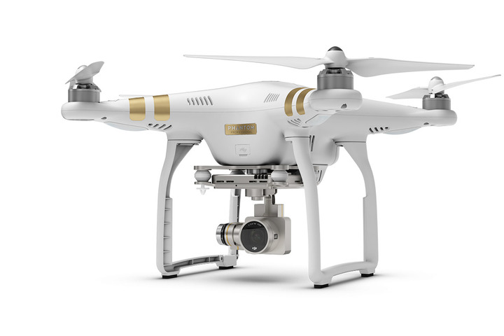 Phantom 3 Professional with Extra Battery and Hardshell Backpack